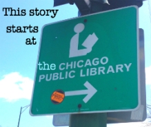This story starts at the library