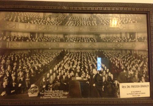 Church service circa 1930