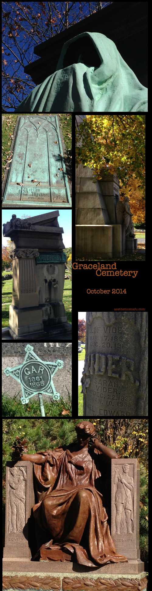 Graceland Cemetery Chicago October 2014