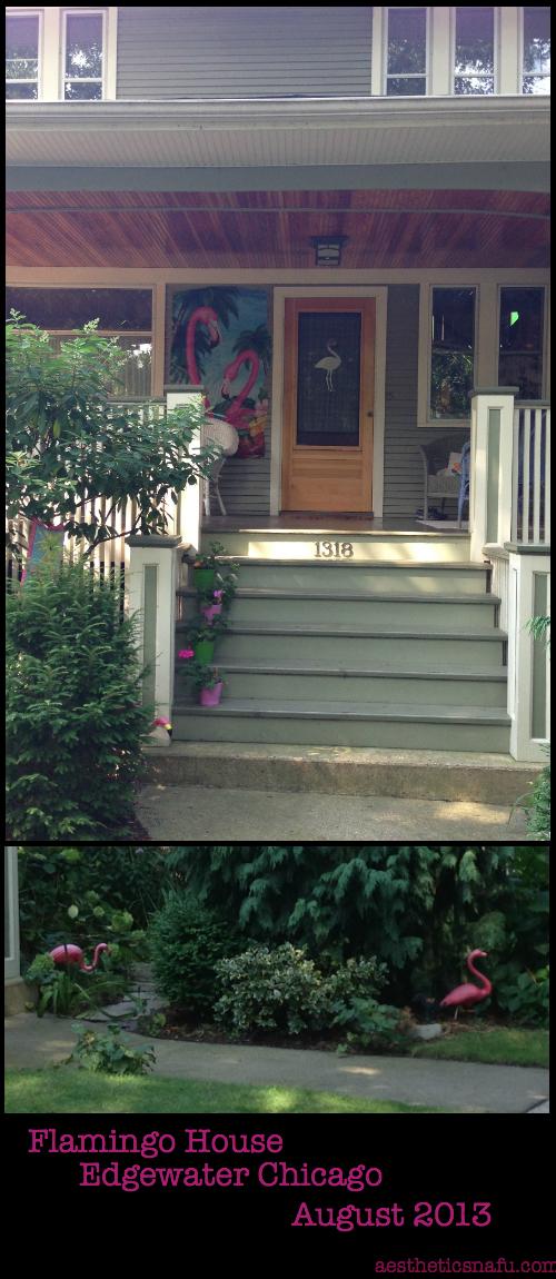 Flamingo House Edgewater Chicago