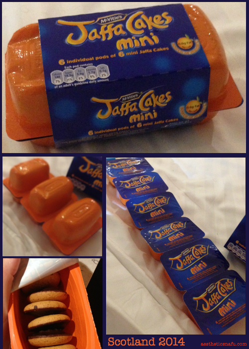Mini jaffa cakes from Scotland