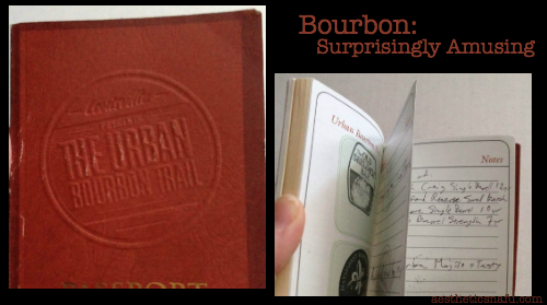 Urban Bourbon Trail Passport from Louisville, KY Tourist Board