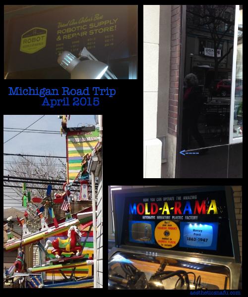 Photos from Michigan Road Trip April 2015