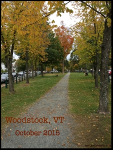 picture of the Woodstock VT green where a vampire may or may not be burried